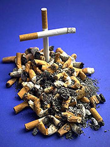 Die Wirkung von Zigaretten rauchen